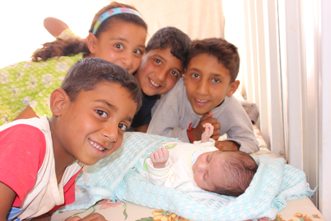 Jordan-Azraq-Camp-Baby-1