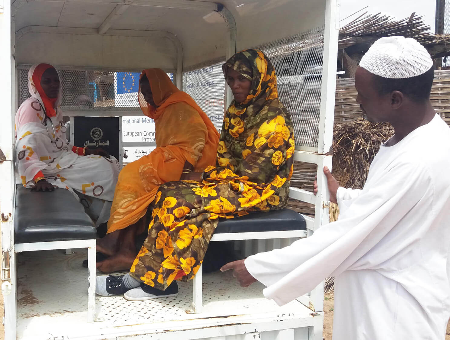 Darfur_7.2019_Using_tri_cycle_ambulance