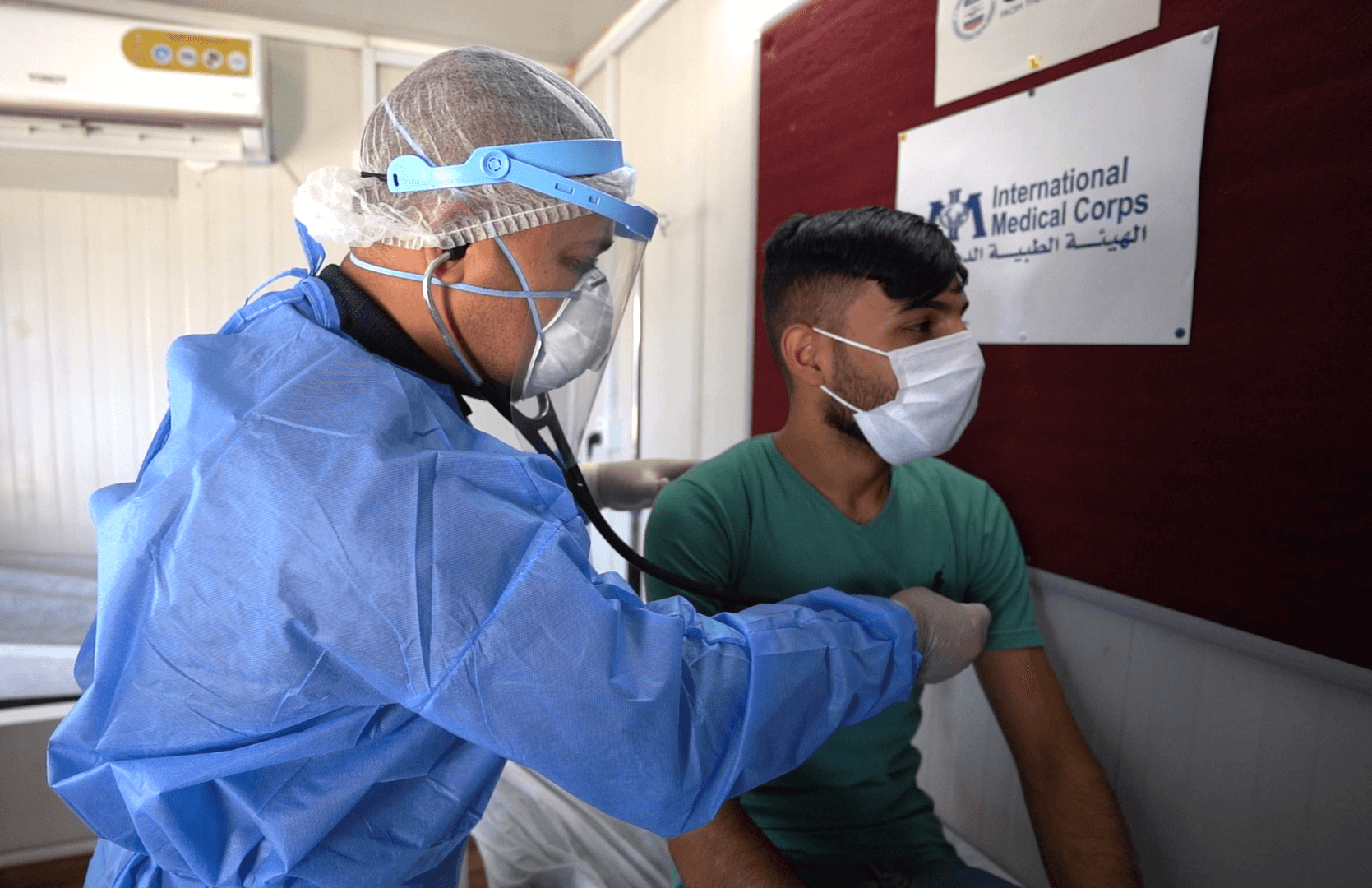 In Iraq, our team is securing PPE and providing training for frontline health workers on COVID-19 prevention and management.