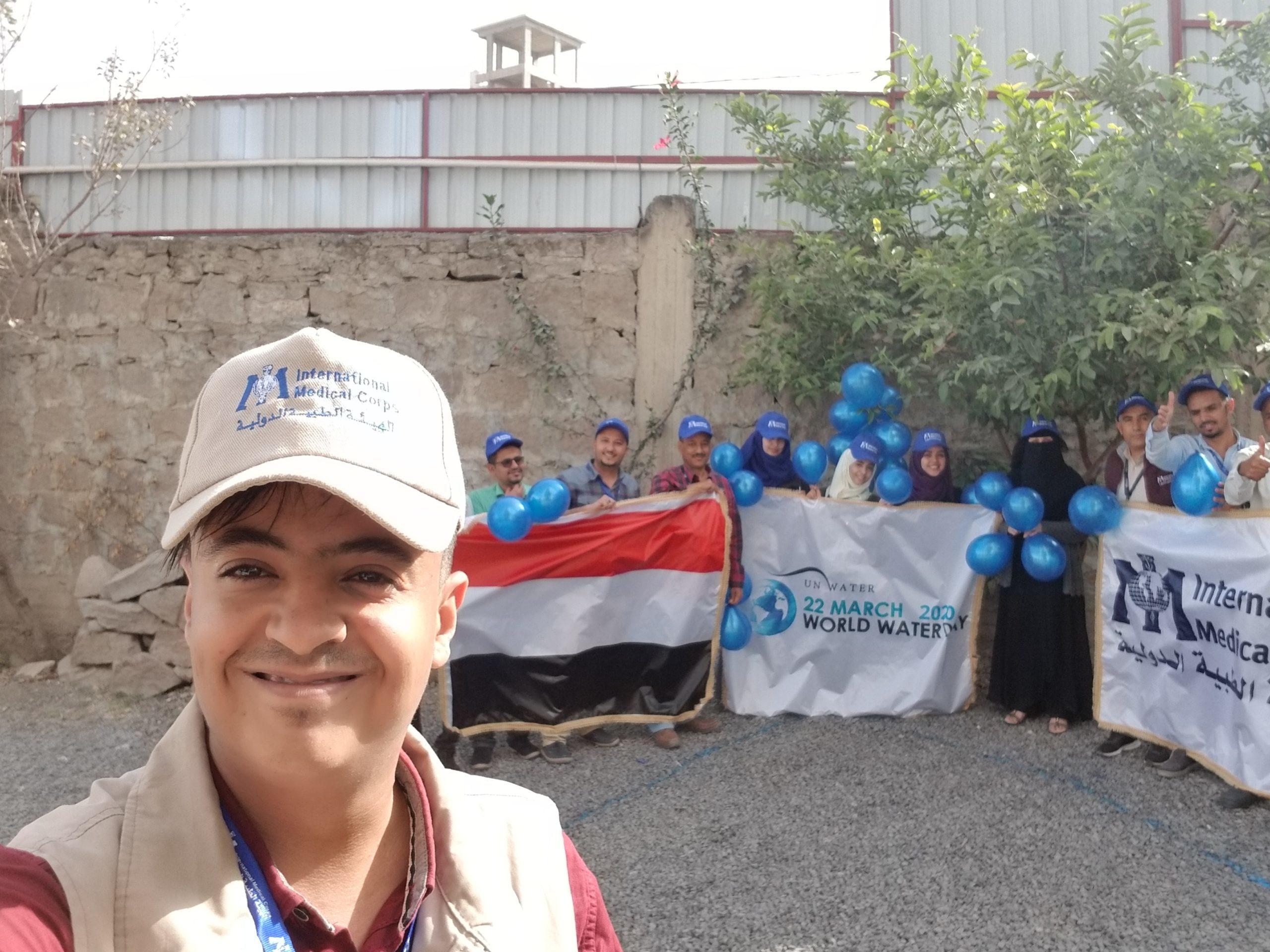 Pre World Water Day - StaffFayad