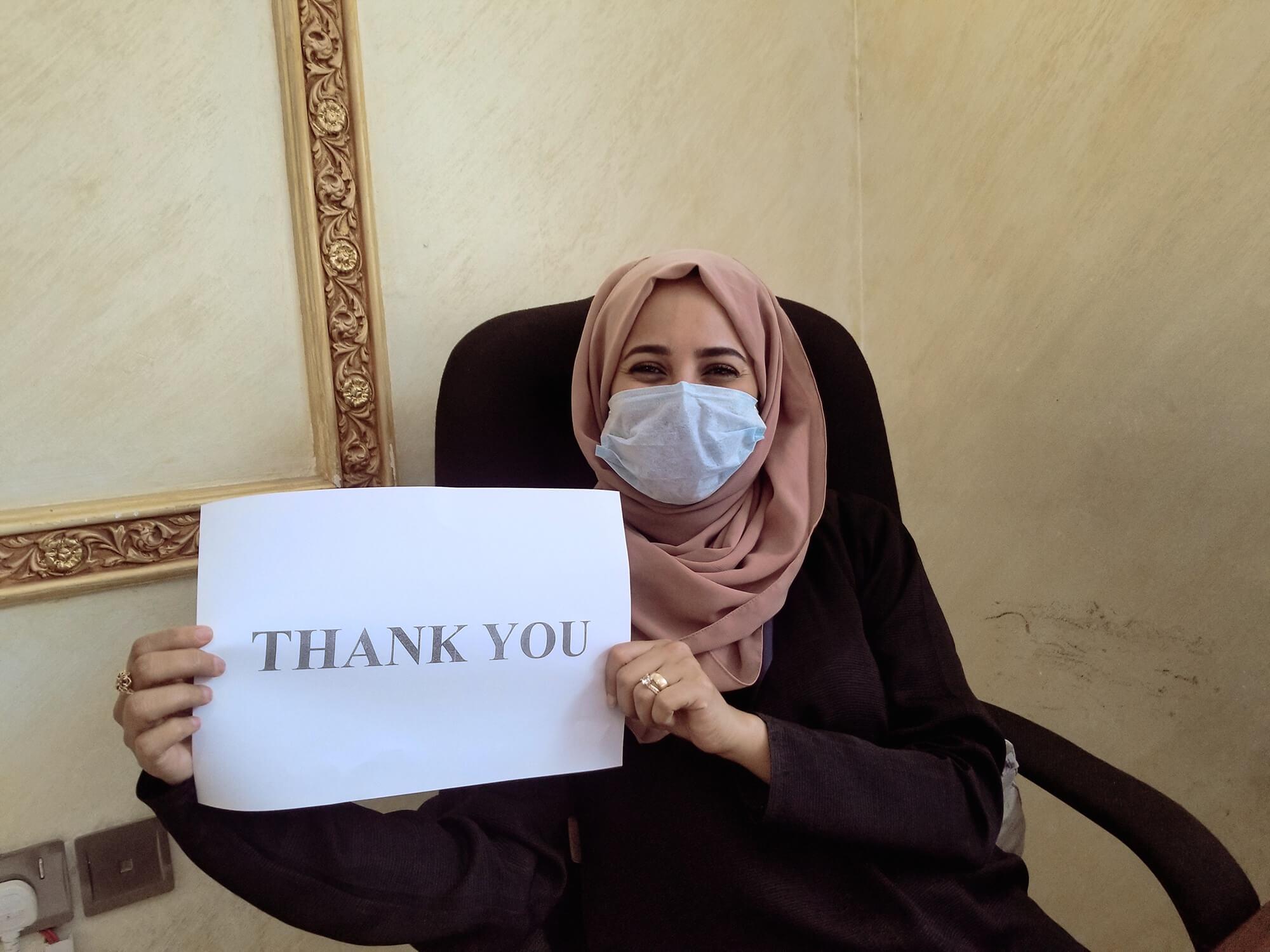 International Medical Corps staff from Sana'a, Yemen.