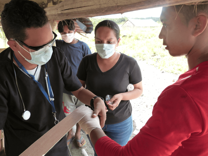 Individuals received direct medical services by our medical mobile team in Comunidad Indigena La Piedrita (La Felicidad), Venezuela.