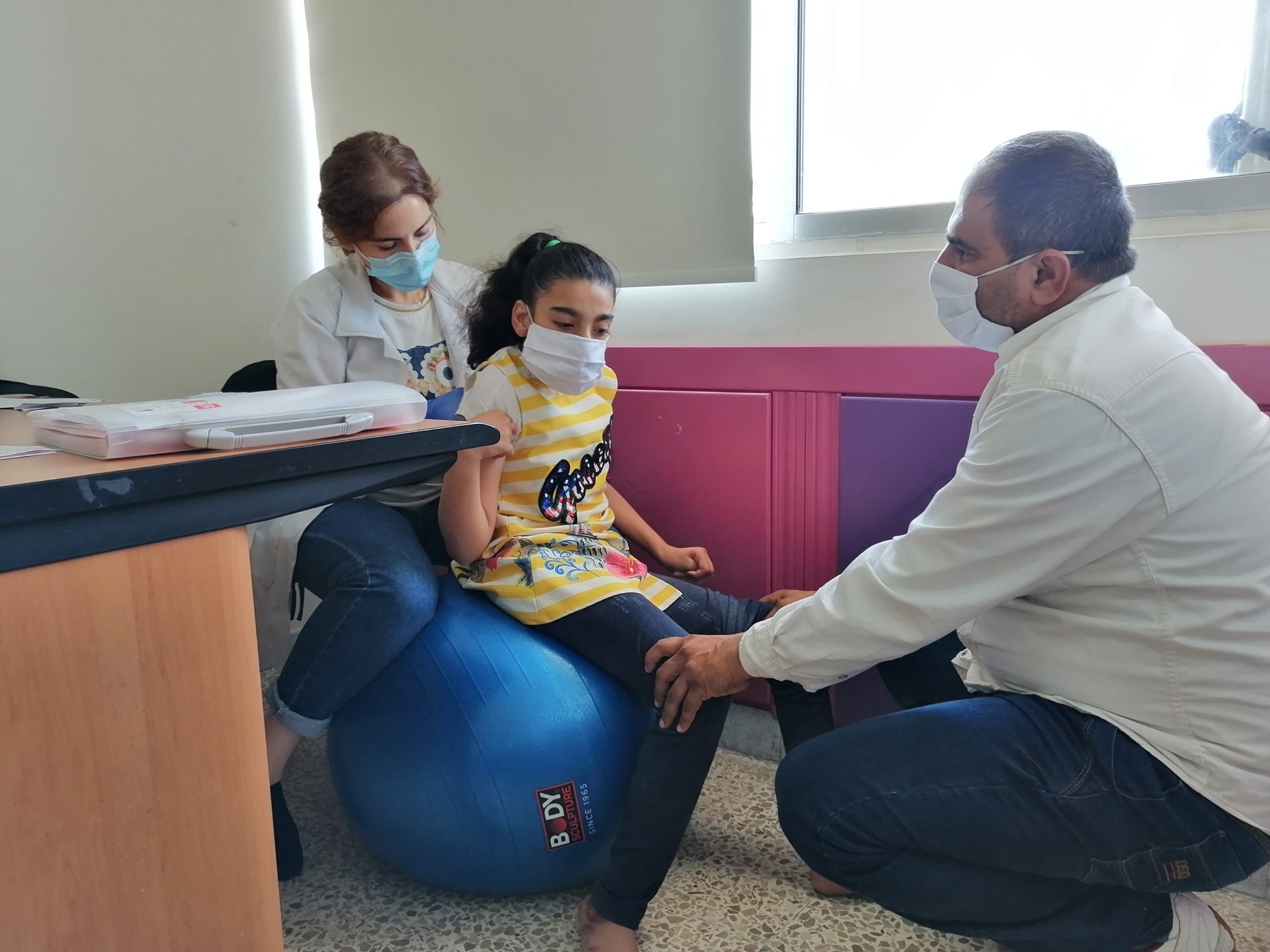 Physiotherapy sessions in Lebanon.