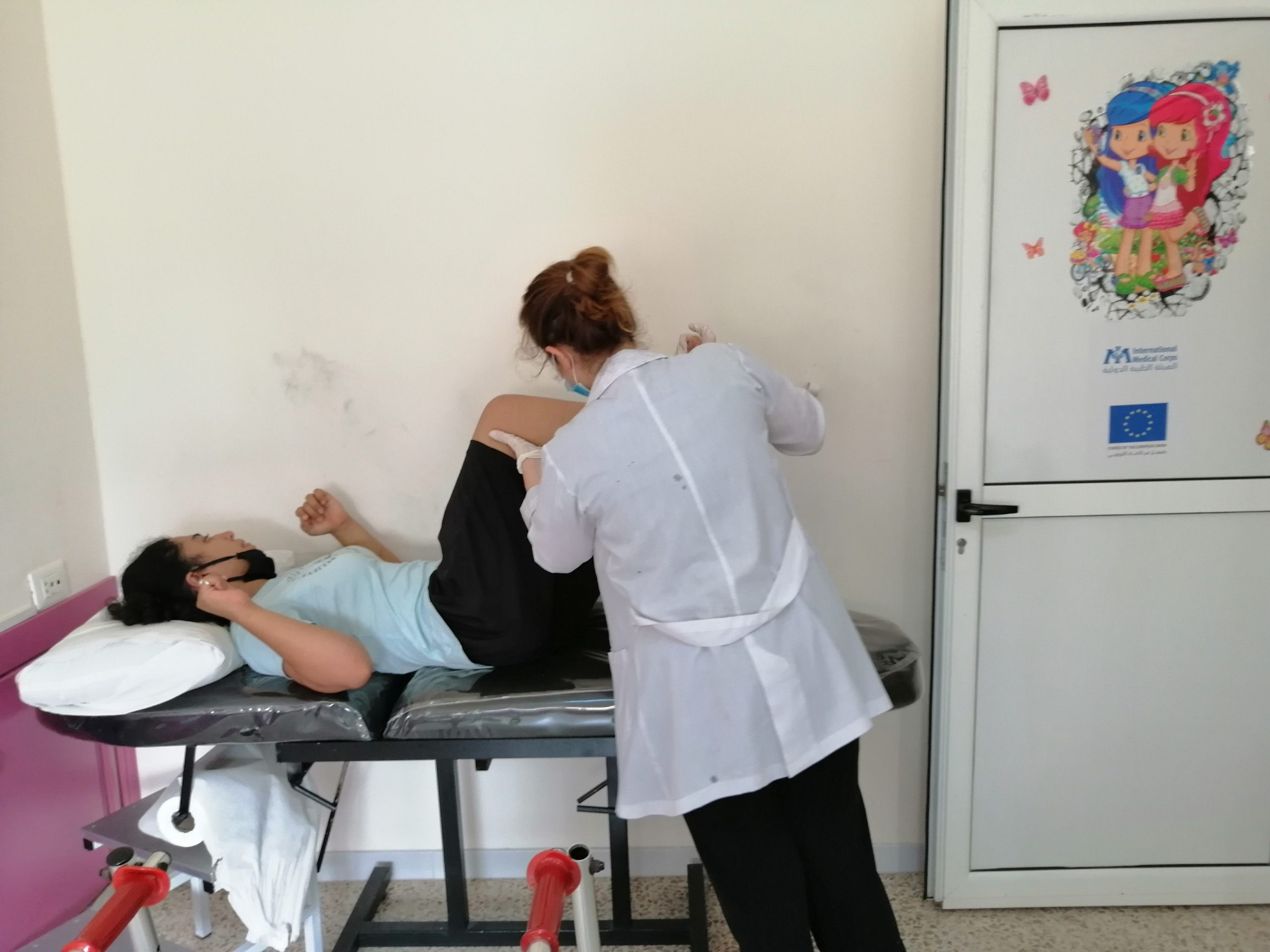Physiotherapy session. Lebanon. 2020_pic 9