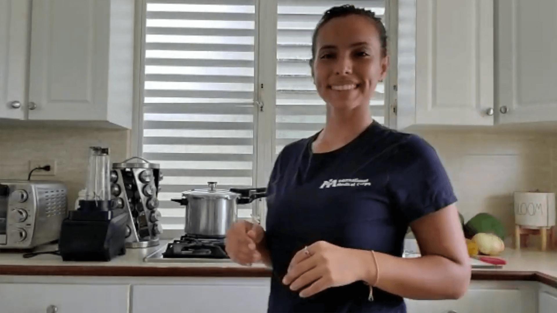 Valeria Santa, Nutrition Promoter, International Medical Corps