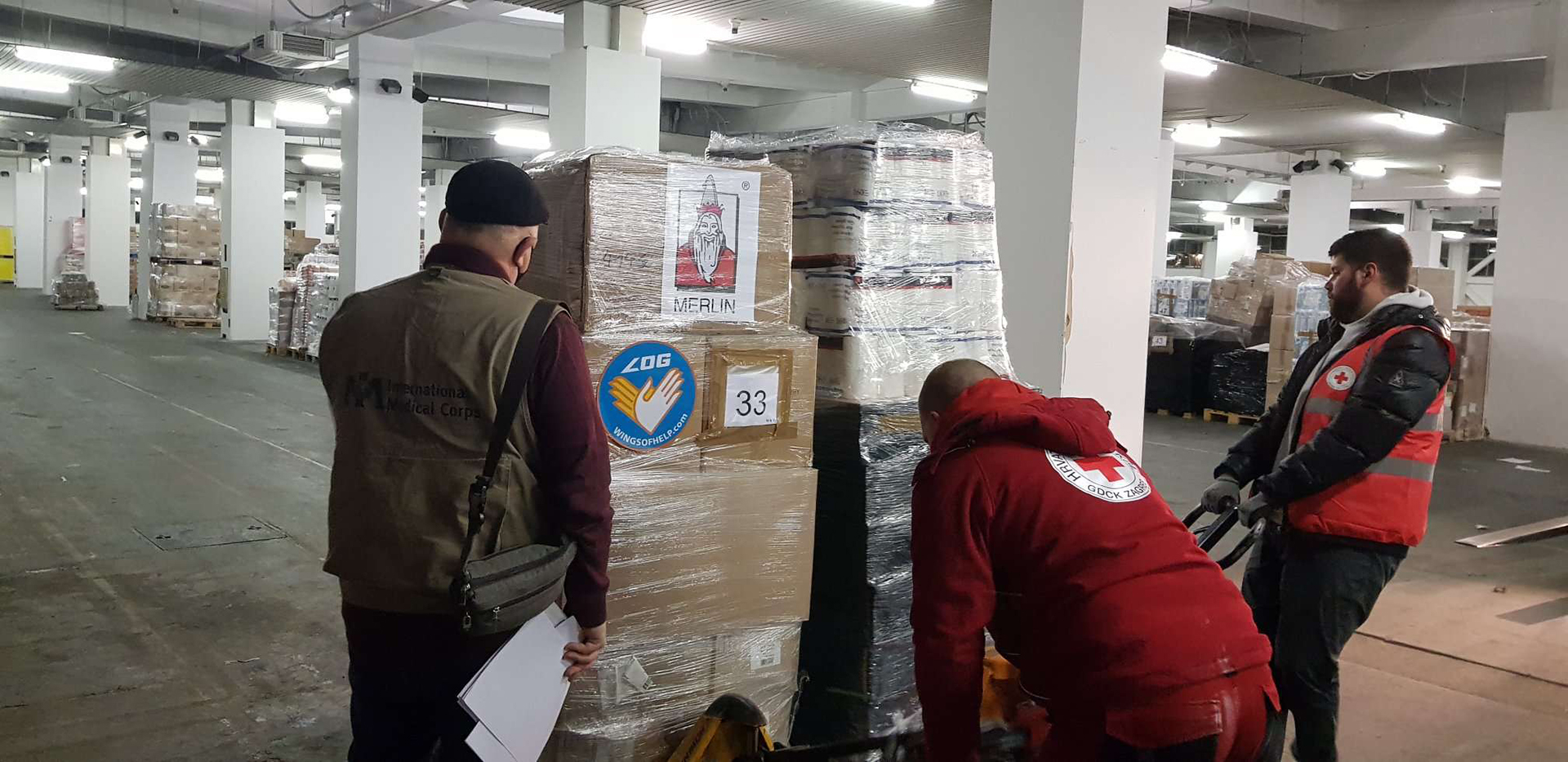 Donation provided by the Luftfahrt ohne Grenzen e.V. Wings of Help from Germany.