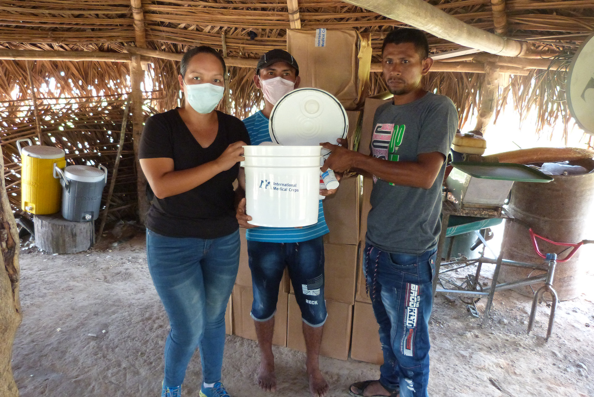 Medical mobile outreach activity completed under an LDS grant in the Bolivar state, Venezuela.