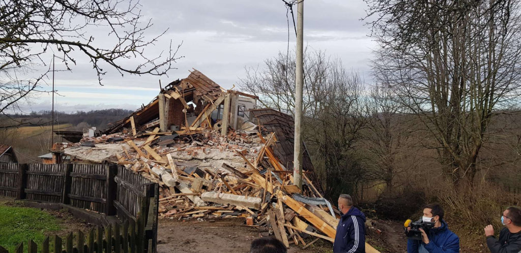 Just after noon local time on Tuesday, December 29, a 6.4-magnitude earthquake struck central Croatia about 30 miles southeast of the capital, Zagreb, near the towns of Petrinja and Sisak.
