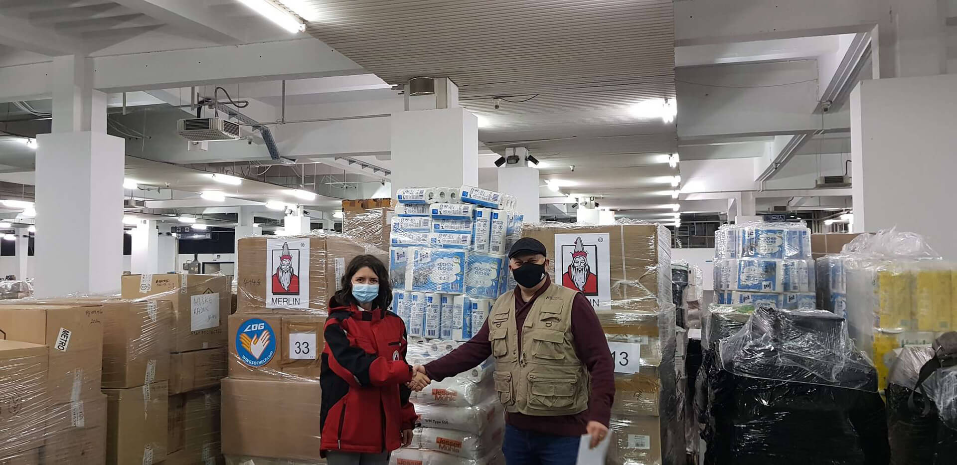 Within hours of the earthquake in central Croatia, we deployed more than $50,000 worth of PPE to support Croatian health authorities involved in relief efforts.
