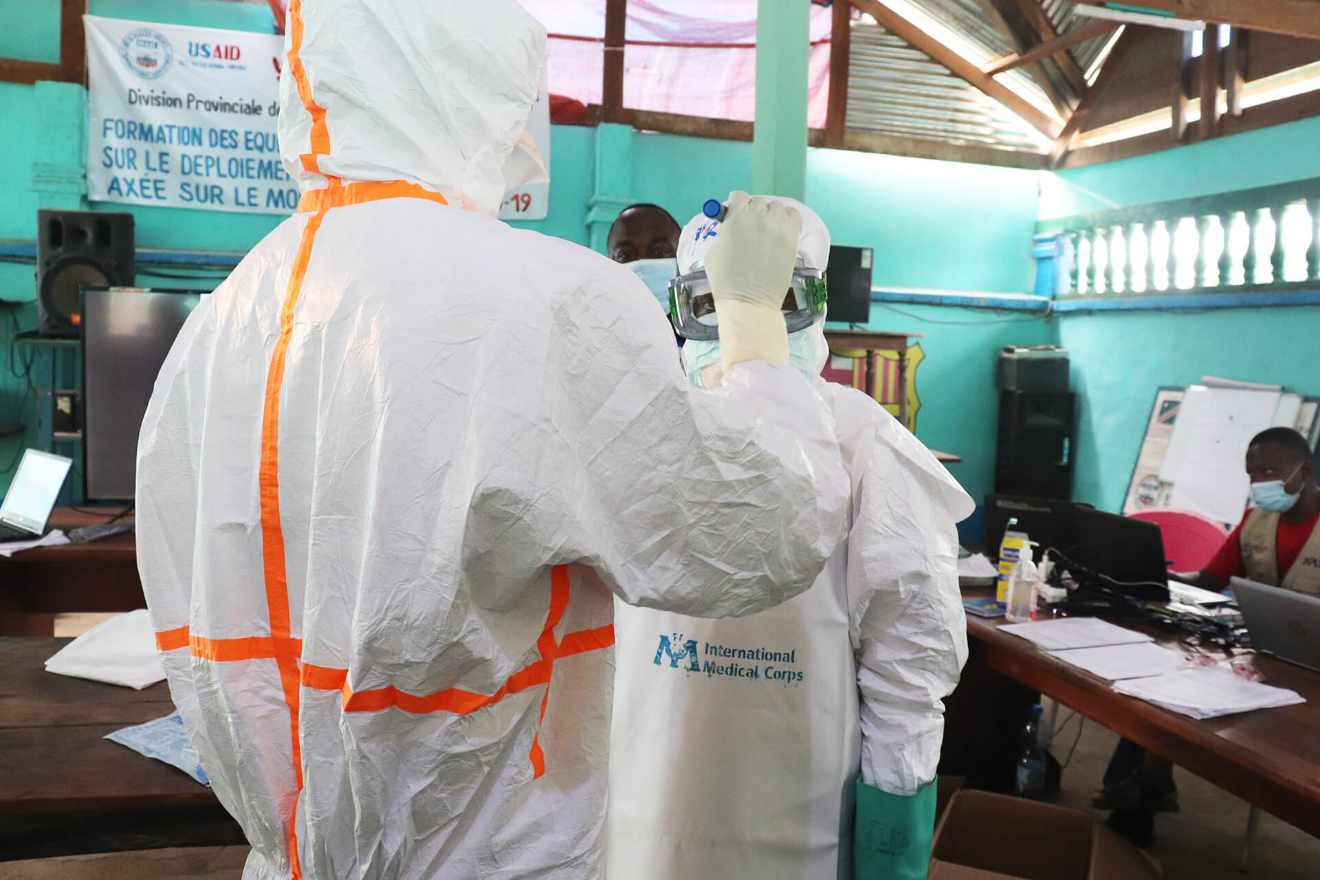Our Rapid Response Team is training local health staff, to enhance their ability to respond if another outbreak occurs.