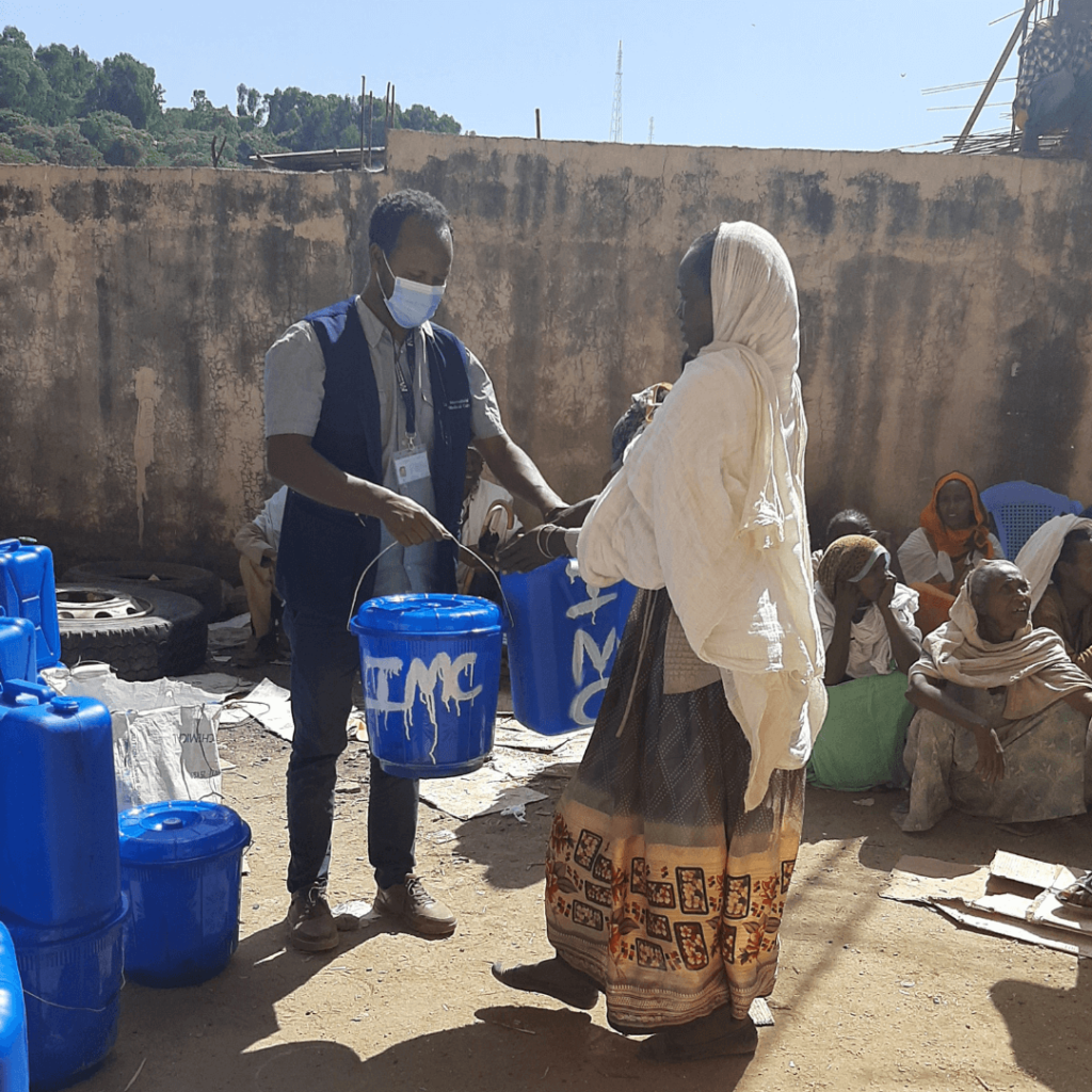 We are supporting communities by providing hygiene and COVID-19 kits that will help prevent the spread of the virus, and making clean water more accessible.