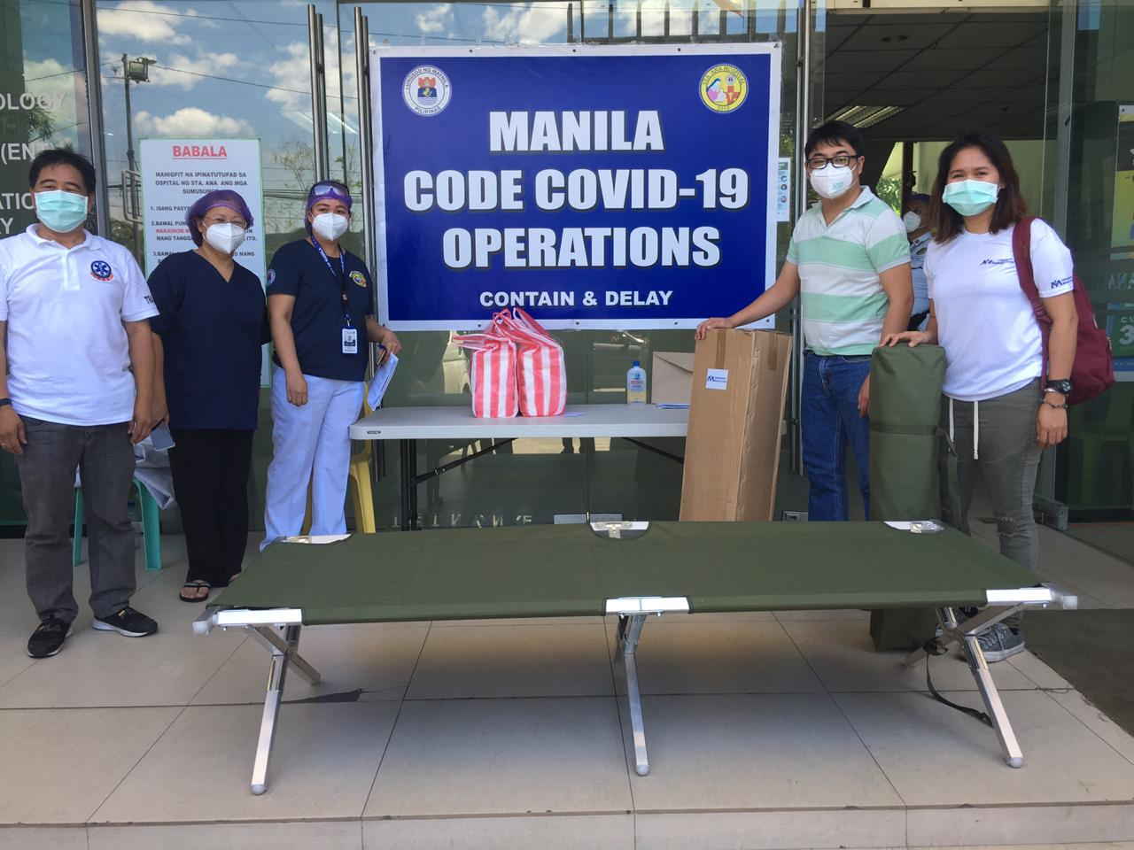 Fighting Covid-19 in the Philippines
