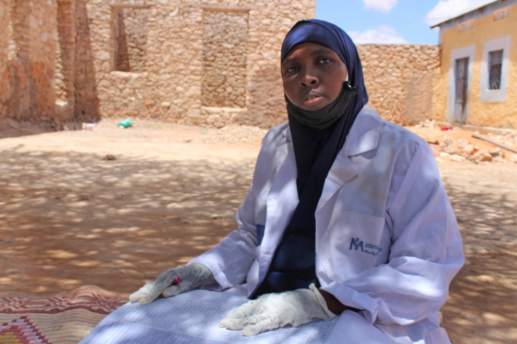 Aisha, Community Health Worker in Galkacyo