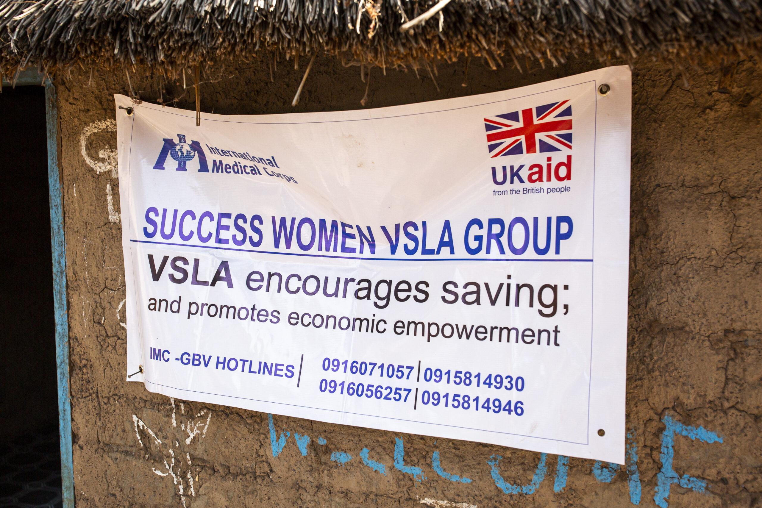VSLA meeting in Wau, South Sudan, on March 10, 2021.