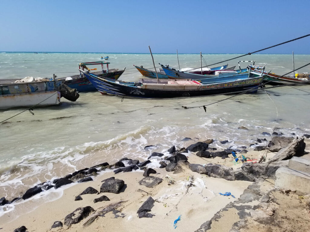 Coastal fishing, once at the heart of a fragile local economy, has been decimated by war-related fuel shortages.