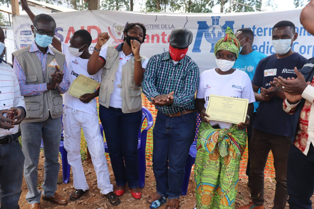 This month, we celebrated the discharge of the last two patients at our Ebola Treatment Center in Katwa.