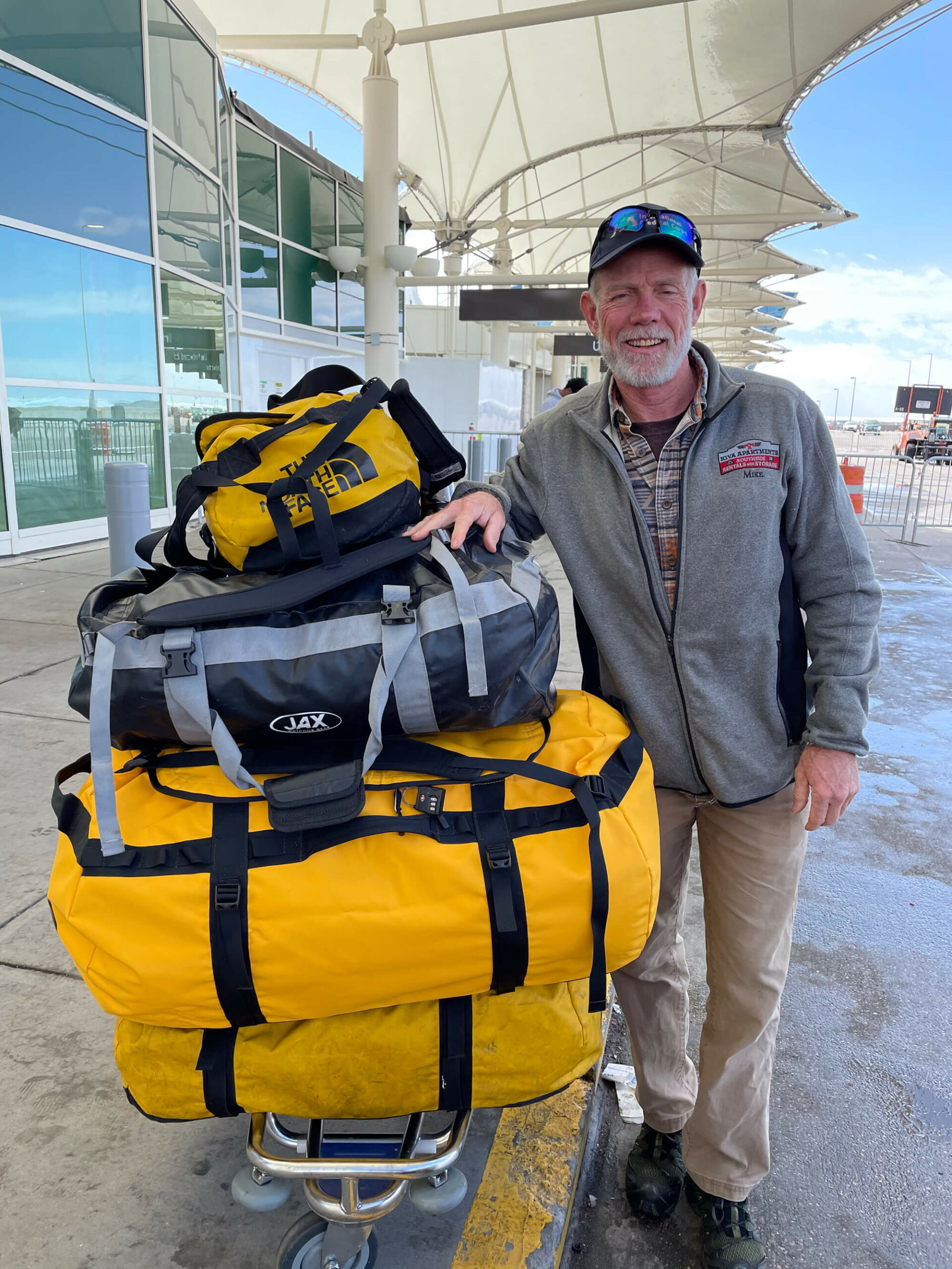 Dr. Michael Paterson has arrived in Nepal and started the final steps of training for his climb of a lifetime.