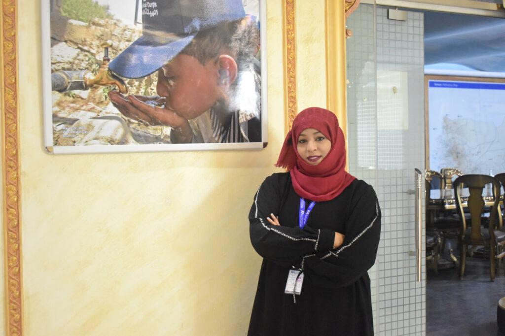 Dr. Nebras Khaled has been selected as an InterAction 2021 Humanitarian Award Winner!