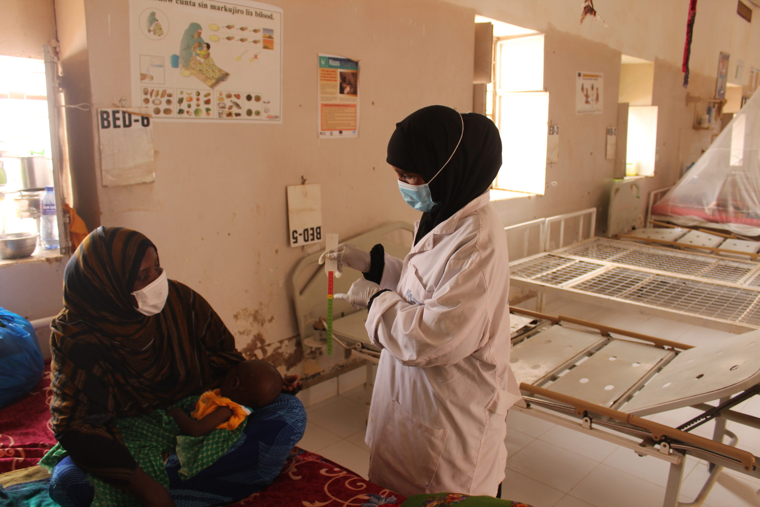 IMC Nutrition Activities and Interventions at the Galkacyo South (GAS) hospital.