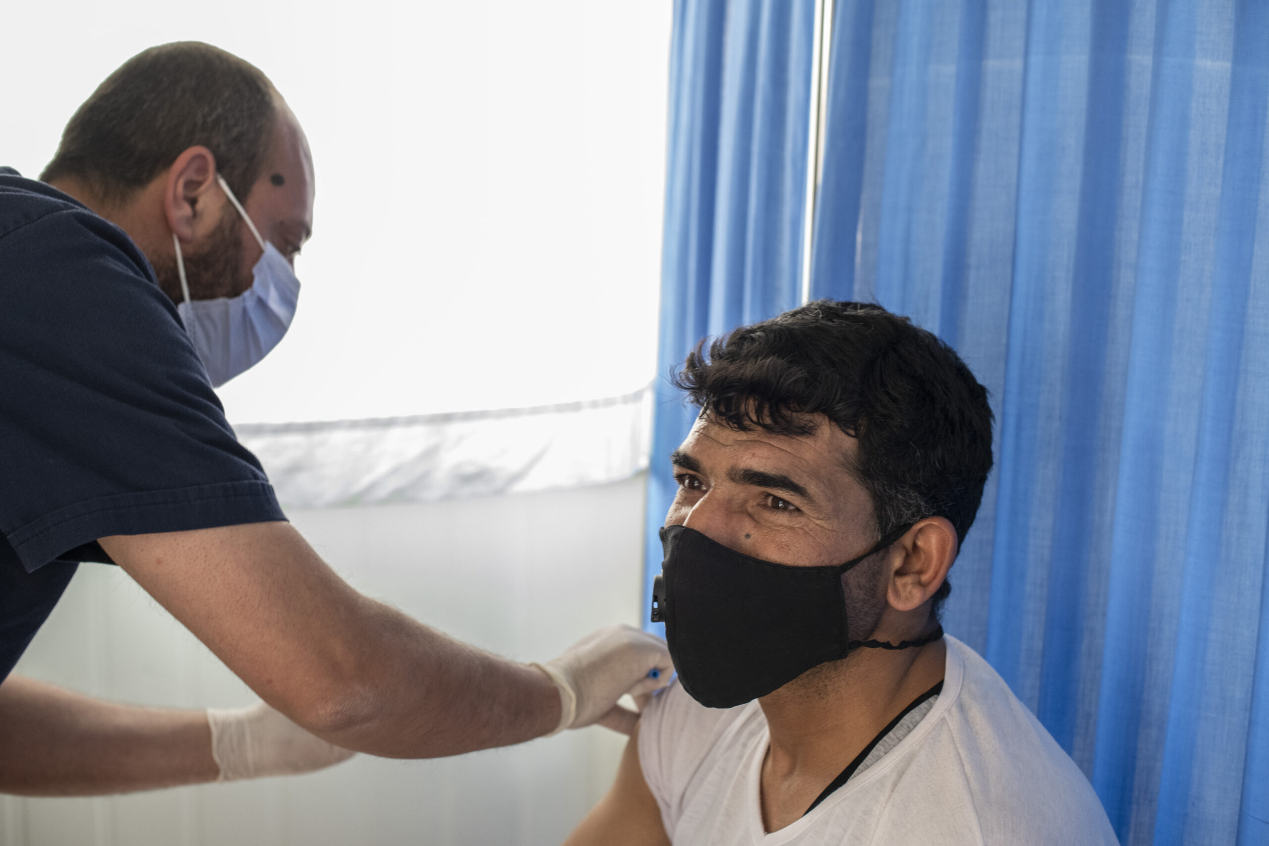 In Jordan, we are continuing to work with the Ministry of Health to provide vaccination services in Azraq and Zaatari refugee camps.