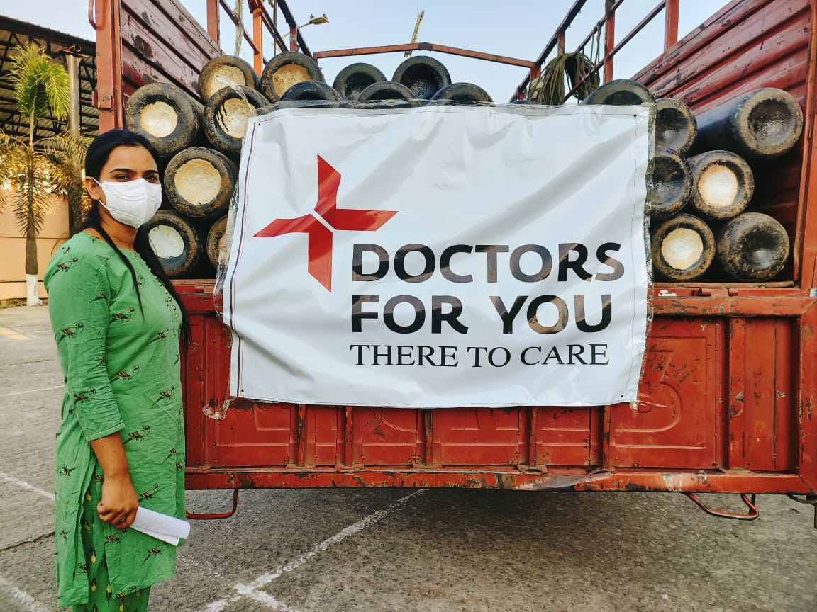 We're continuing to work with local partners to provide critical care at overwhelmed healthcare facilities and COVID-19 treatment centers in India.