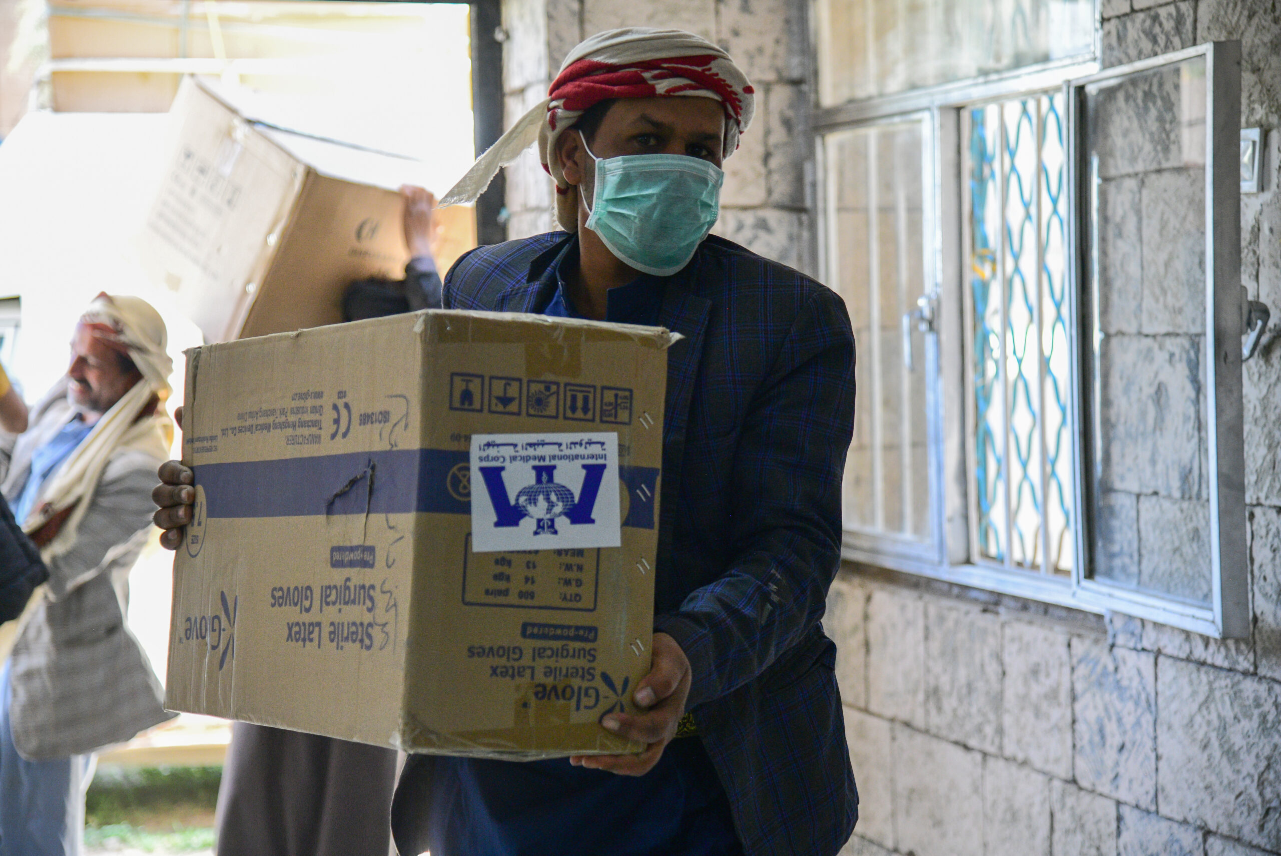 Our team recently delivered medical equipment and furniture to an orphanage in Sana'a city.