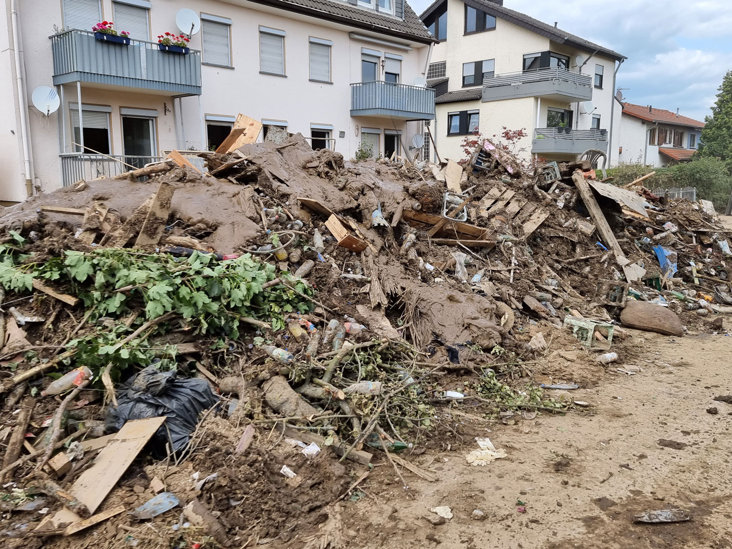 Western Europe has been devastated by flooding from heavy rains that started July 14.