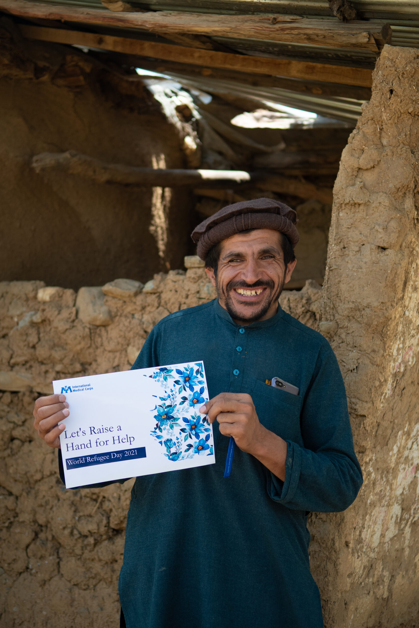 In honor of World Refugee Day, our Pakistan team held activities with Afghan refugees in the Khaaki Refugee camp.