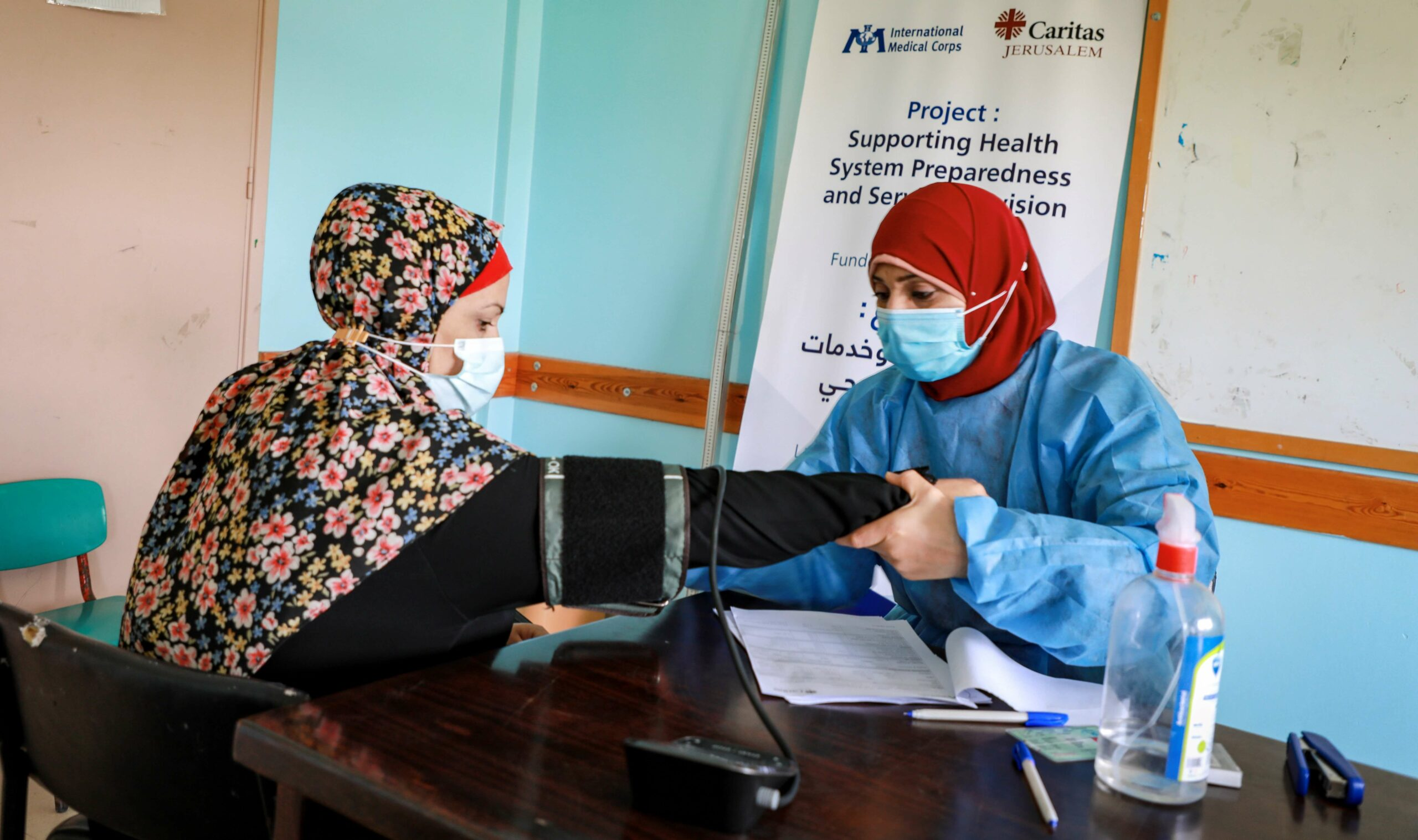 We're responding in the Gaza Strip by providing medical care and working with local partners to reach conflict-affected areas.