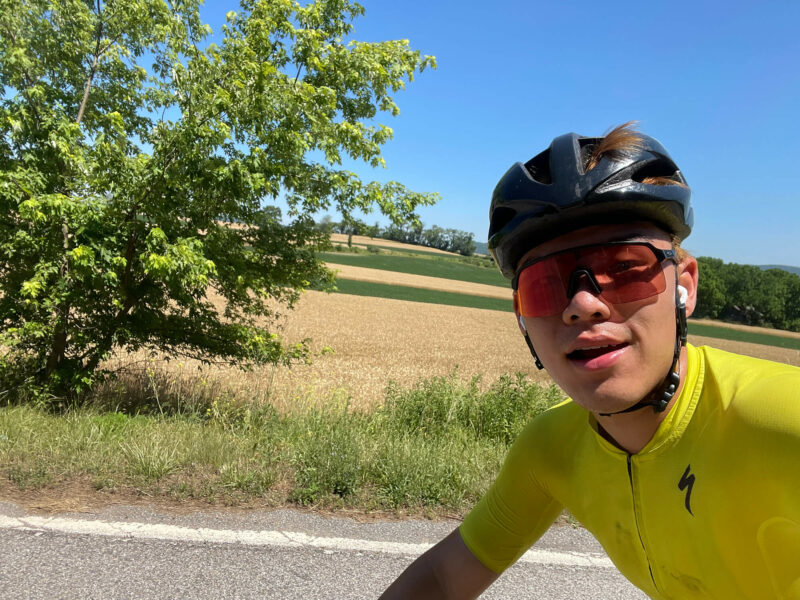 Nicolas Chien is cycling across 3,000 miles over five weeks, with almost 100,000 feet of climbing, to raise money for International Medical Corps.