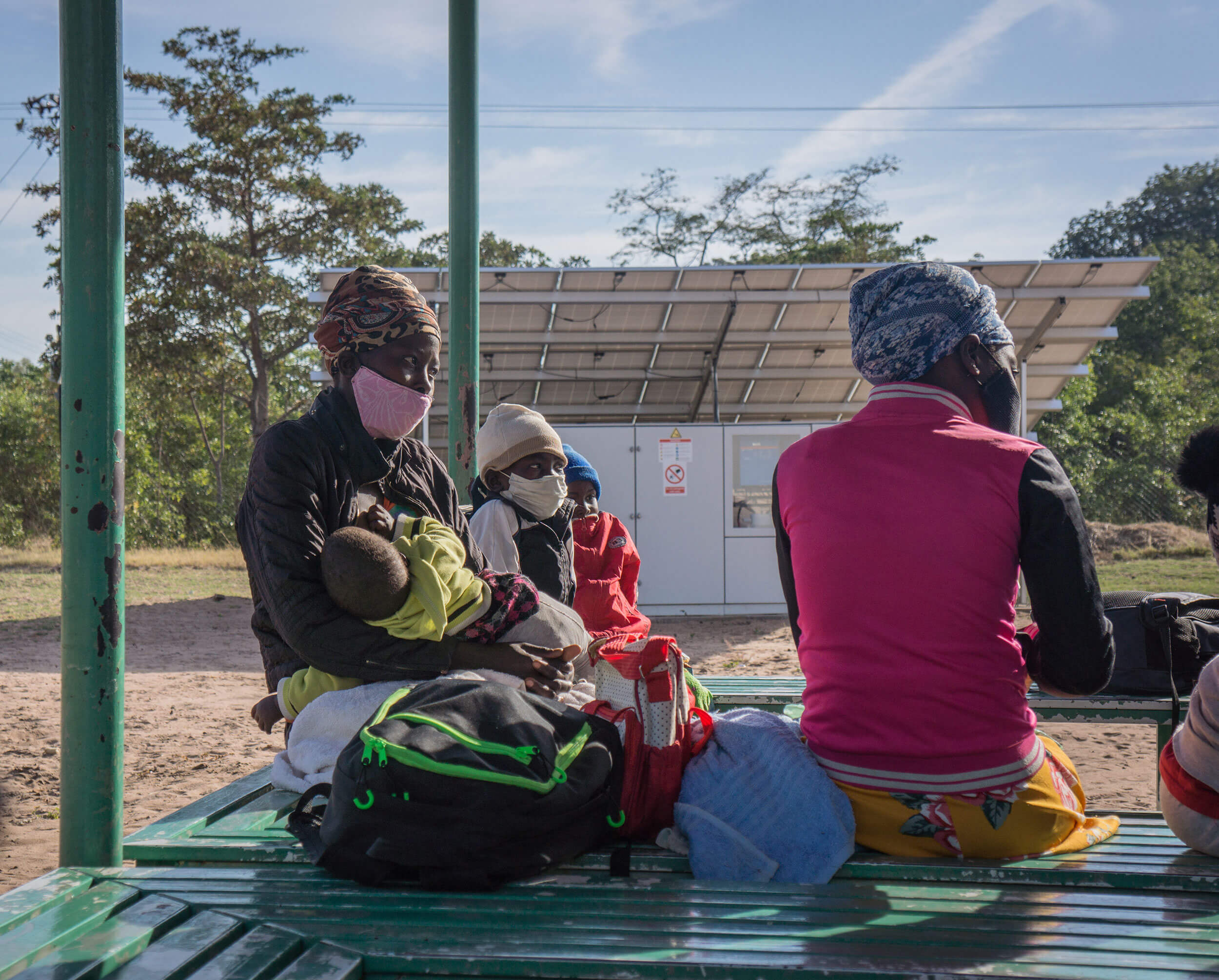 We've established three shelters for mothers and newborns in Nkayi, where mothers can stay overnight to access maternal healthcare.
