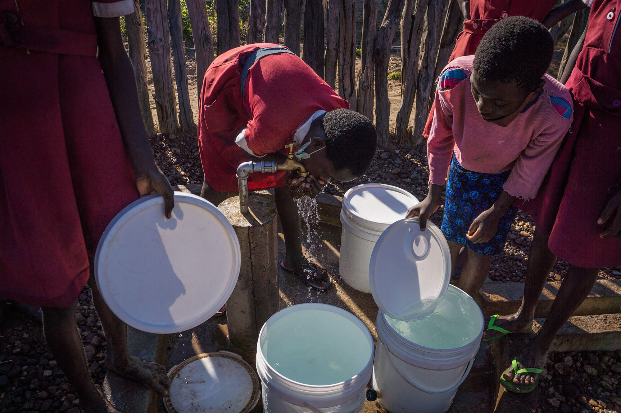 Our water, sanitation and hygiene team has been building new solar-powered water pumps across Zimbabwe, in communities like Mpumelelo and Zumanana.