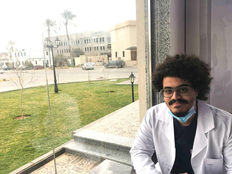 Kosai Souff is a 25-year-old medical student and communication officer with International Medical Corps in Libya.